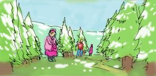 Marldon game concept image, grannies
