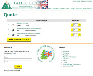 jadecliff jigoshop quotation system view quote