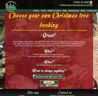 marldon christmas trees website 2014 choose your own tree page 3