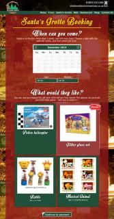 marldon christmas trees website 2014 santas grotto booking page 2