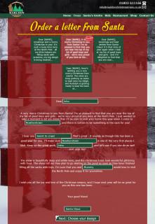 marldon christmas trees website 2014 santa letter designer page 1
