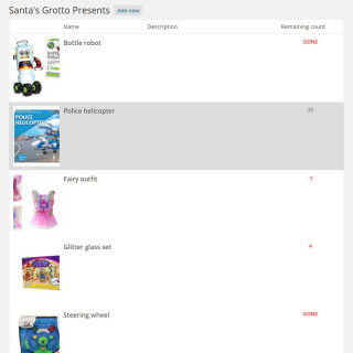 marldon christmas trees website 2014 admin list santa gifts