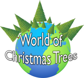 world of christmas trees logo