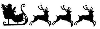 Flying reindeer animation lapetus